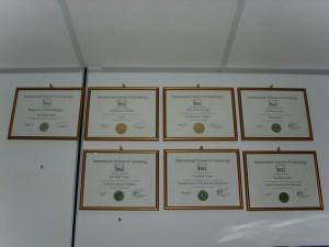 ISG Certificates